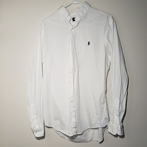 Classic White Ralph Lauren Polo
